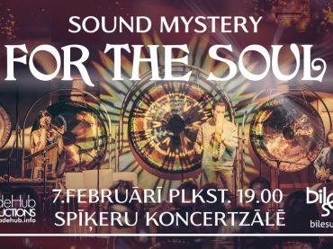 SOUND MYSTERY. For The Soul. Muzikāls ceļojums ar Alīciju un Ričardu Eiliakas (Lietuva)