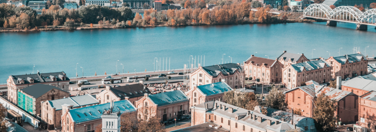 Spīķeru kvartāls Rīga Latvija