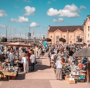 Mark the date: Riga Flea Market is coming to Spikeri quarter