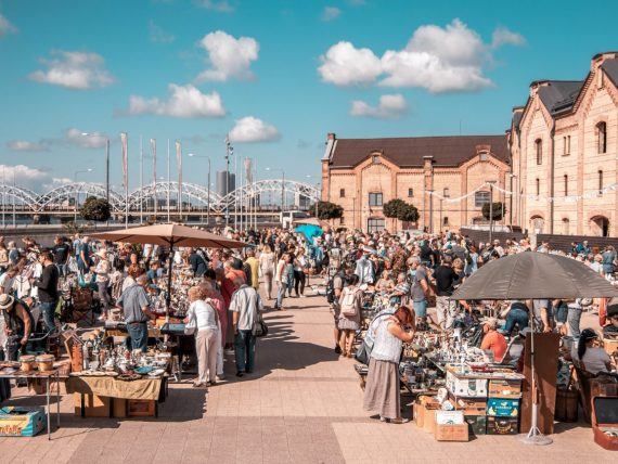 Mark the date: Riga Flea Market is coming to Spikeri quarter