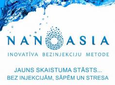 Nanoasia — новейшая методика омоложения без применения уколов