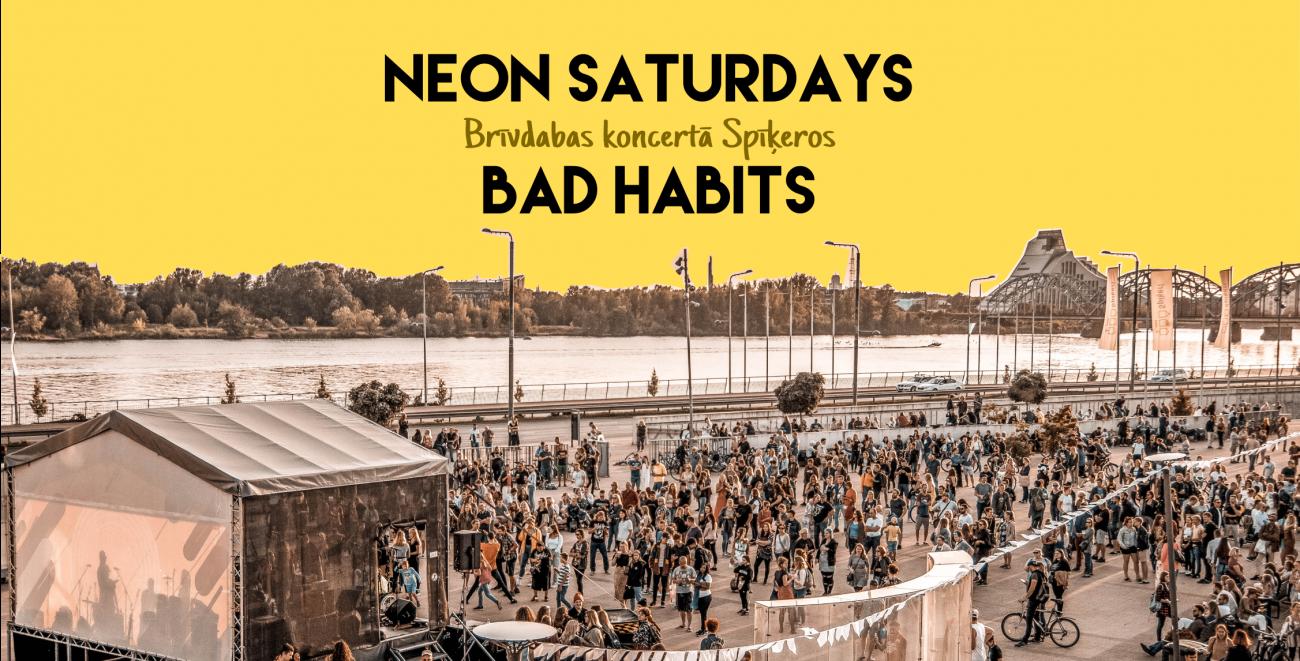 Neon Saturdays Spīķeros Rīgā