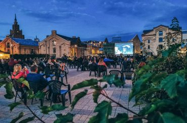 Šonedēļ Spīķeros noslēdzošais brīvdabas koncerts, pilsētsuņu fests un kino