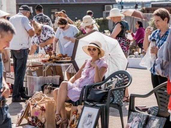 FOTO: Rīgas krāmu tirdziņa atradumi augustā