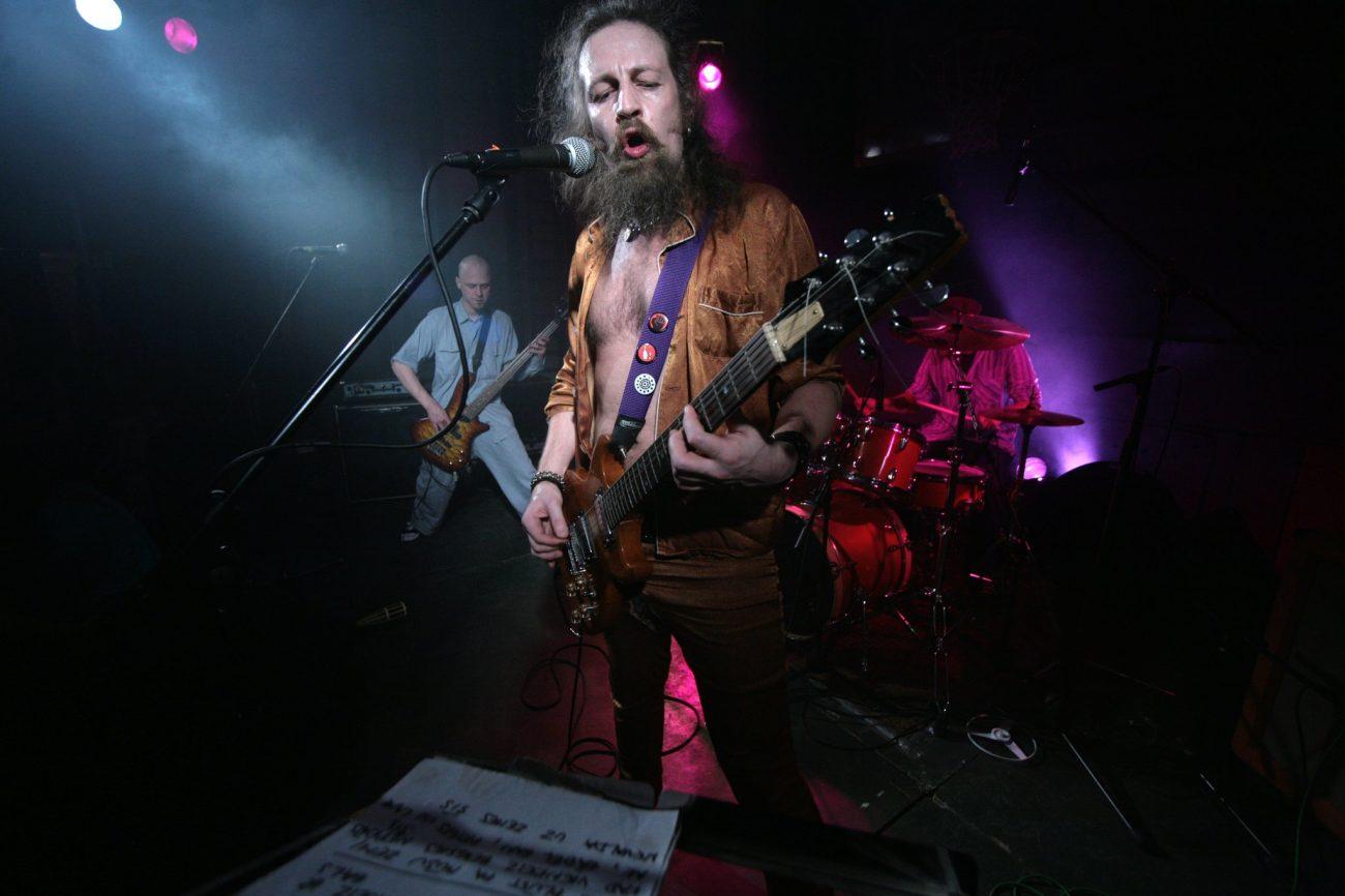 Inokentijs Mārpls Age Of Stones koncertā Spīķeros 2021