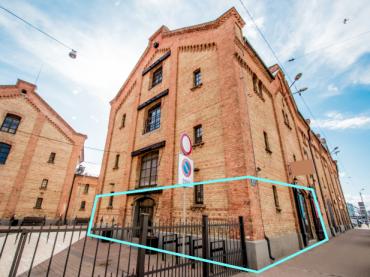 Telpas nomai Rīgas centrā Spīķeru kvartālā, 105 m2 – M4